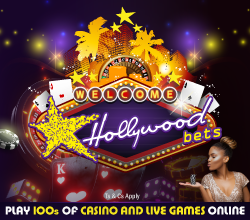 Casino Games with Hollywoodbets