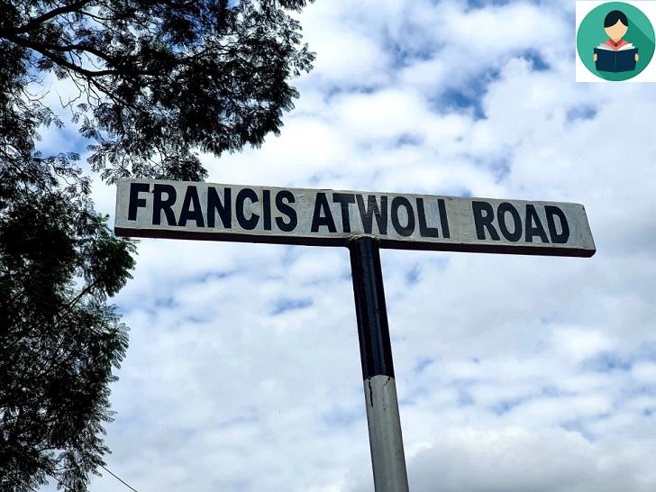 Last Friday a Kileleshwa upmarket road with a nondescript name (Dik Dik) was renamed to Francis Atwoli.
