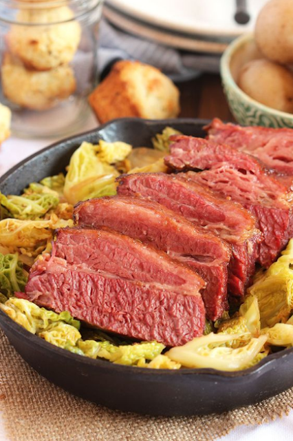 The  Best Corned Beef and Cabbage Ever