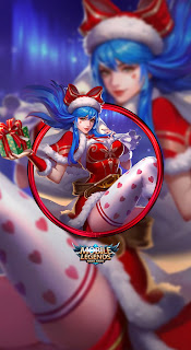 Eudora Christmas Cheer Heroes Mage of Skins V2