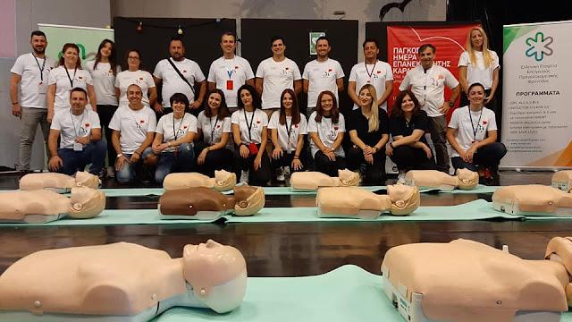 Εκπαιδευτές και από το Άργος στην Καλαμάτα για την Παγκόσμια Ημέρα Επανεκκίνησης Καρδιάς