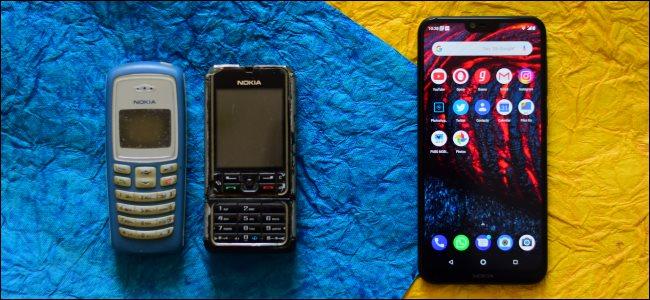 Por qué la gente todavía compra teléfonos con funciones basicas en 2020