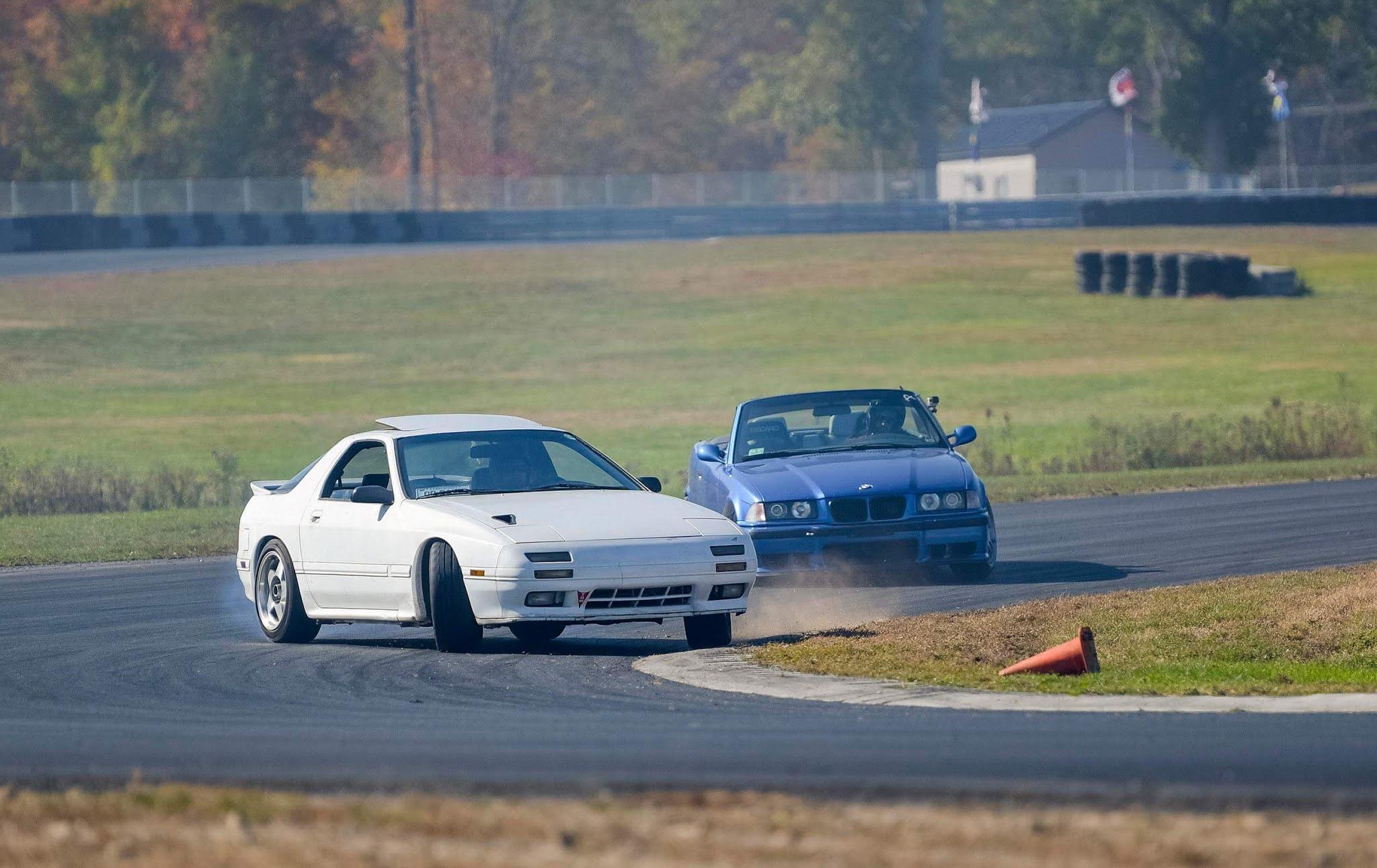 Mazda RX7 FC Drifting