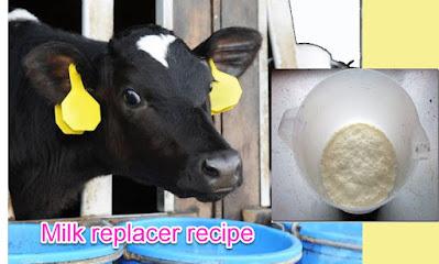 Milk Replacer recipe