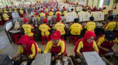 Hukum Tayamum bagi Karyawan Pabrik