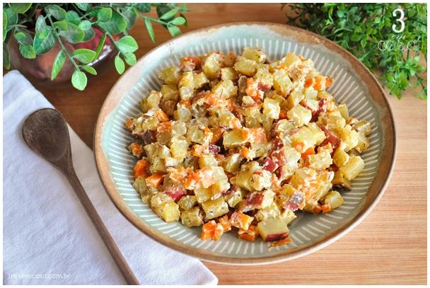 receita de batata doce para churrasco