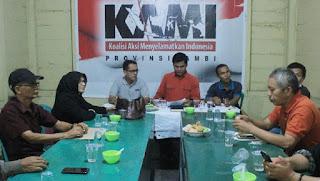 Baru Mau Potong Nasi Tumpeng, Deklarasi KAMI di Jambi Langsung Dihentikan Pihak Kepolisian Setempat