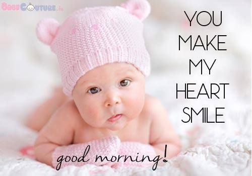 good morning for baby