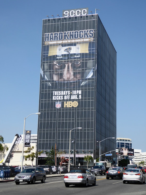 Hard Knocks LA Rams 2016 billboard