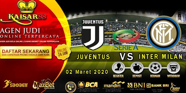 Prediksi Bola Terpercaya Liga Italia Juventus vs Inter Milan 2 Maret 2020