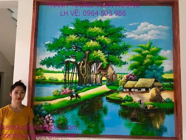 vẽ tranh 3d tại sơn lôi bình xuyên vĩnh phúc