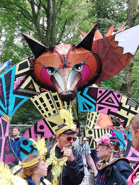 Boomtown fair Festival 2018 parade