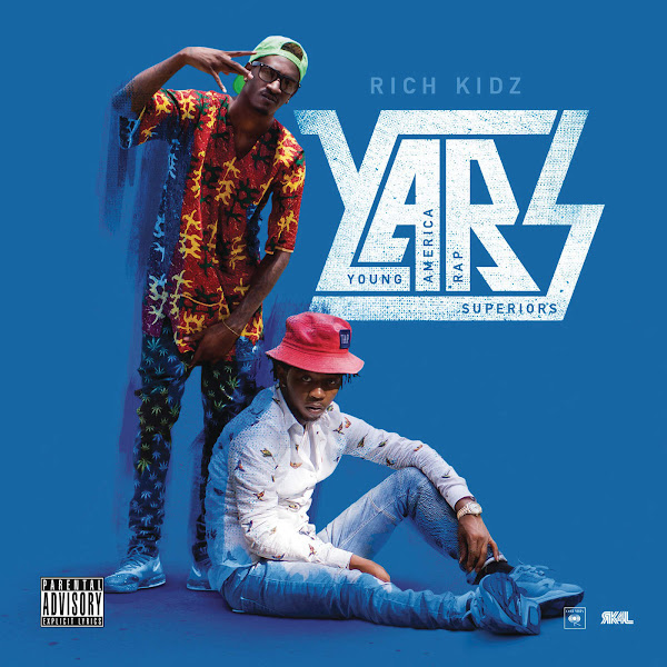 Rich Kidz - Y.A.R.S - EP Cover
