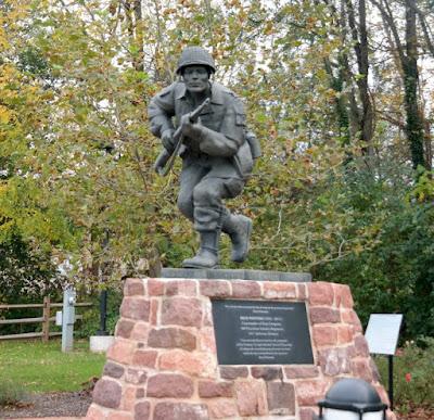 Major Richard Dick Winters Monument in Ephrata Pennsylvania