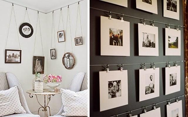 Decotips gu a para colgar y crear composiciones decorativas con cuadros decoraci n - Como colocar los cuadros ...