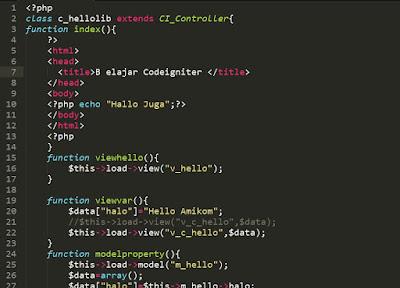 Tutorial Cara Install Codeigniter