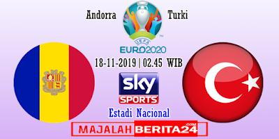 Prediksi Andorra vs Turki — 18 November 2019