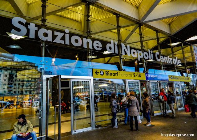 Estação Garibaldi, Nápoles, Itália