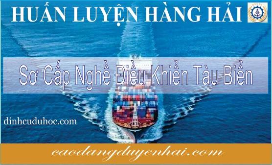 Sơ cấp nghề điều khiển tàu biển