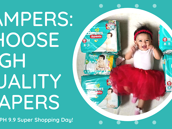 PAMPERS: Choose High Quality Diapers