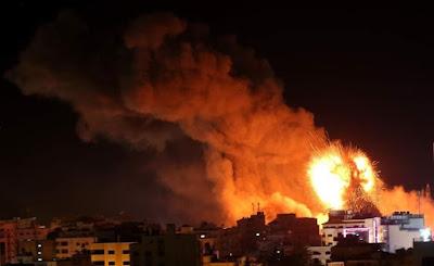 لأول مرة.. صواريخ غراد تدخل الحرب في غزة