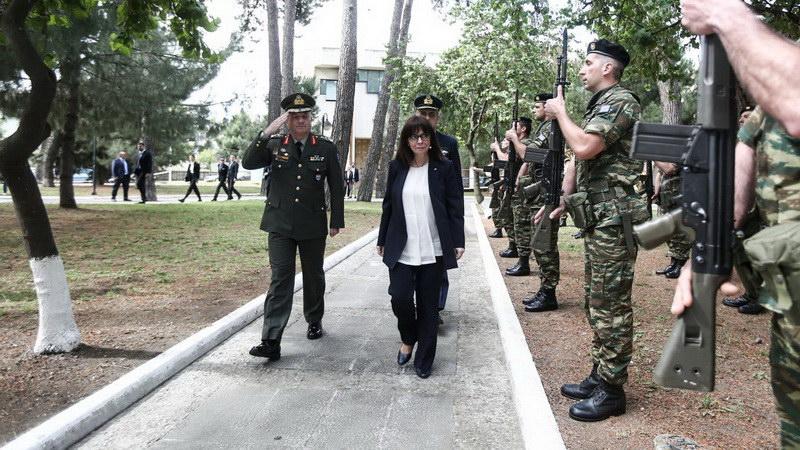 Επίσκεψη της Προέδρου της Δημοκρατίας Κατερίνας Σακελλαροπούλου στην Κομοτηνή