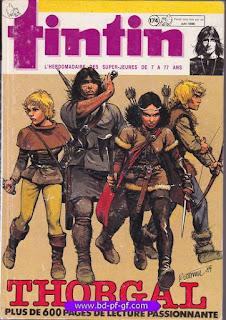 Recueil Tintin, édition Belge, numéro 174, 1984