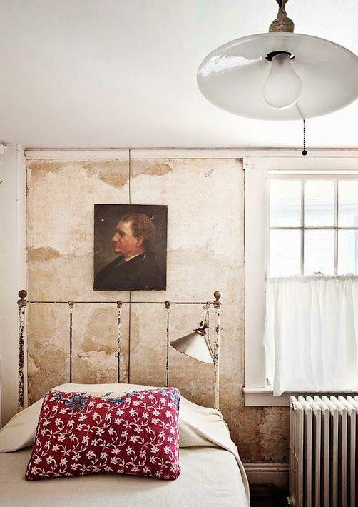 Retrato en el dormitorio