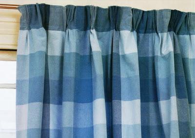 Тройная складка на шторе