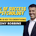 80% Of Success is Psychology – Tony Robbins