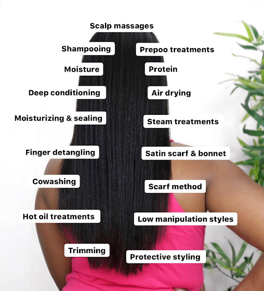 5 Lessons I've Learned To Achieve Healthy Relaxed Hair | www.HairliciousInc.com