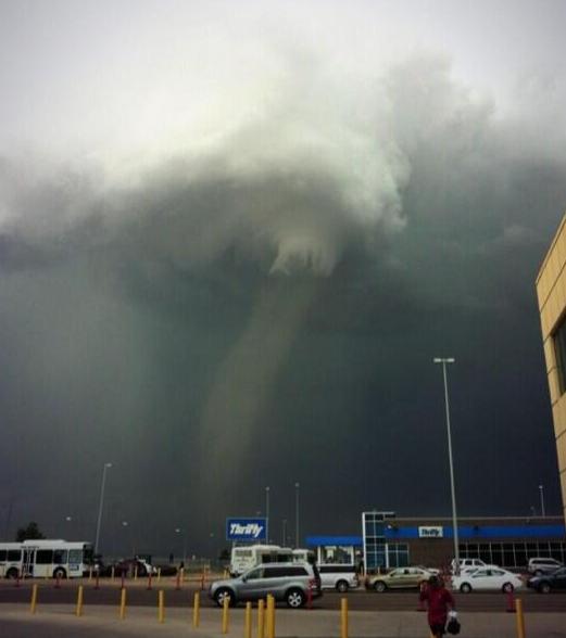 Denver News Flooding: John Belski's Weather News: Tornado At Denver