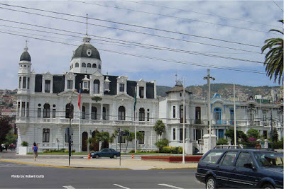 Polanco Palace, Valparaiso, Chile.