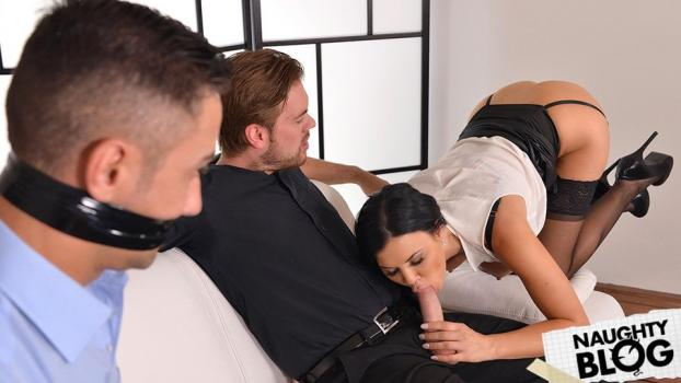 House Of Taboo – Jasmine Jae: The Bound Cuckold