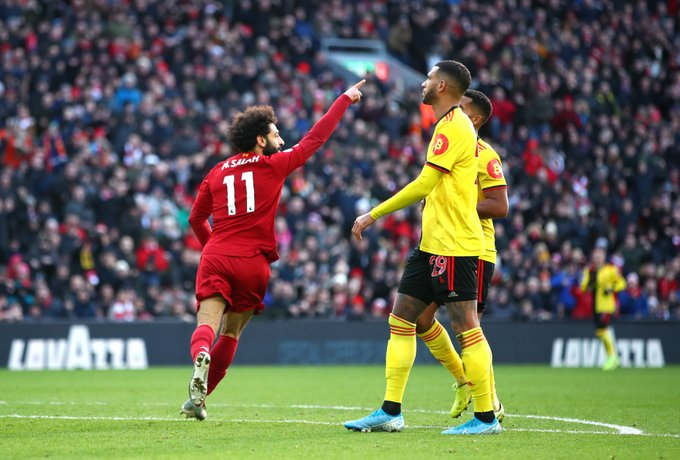 Salah strikes twice to earn Liverpool another victory