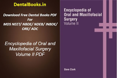 Encyclopedia of Oral and Maxillofacial Surgery Volume 2 PDF