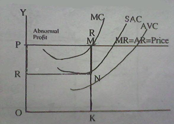 explain short run equilibrium under perfect competition