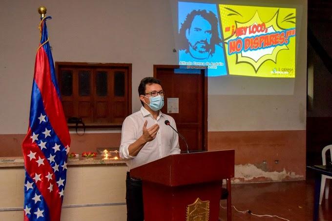 """""""Memoria de Alfredo Correa nos inspira a luchar por los DD.HH. y la democracia en el Magdalena"""": Gobernador Caicedo"""
