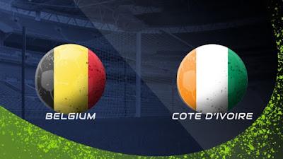 مشاهدة مباراة بلجيكا و ساحل العاج 8-10-2020 بث مباشر في مباراة ودية