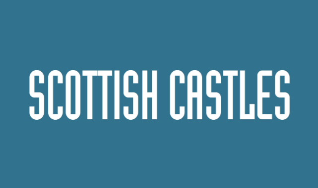 The Beautiful Castles of Scotland #Infographic