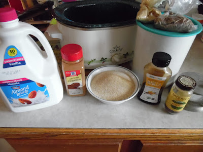 Photo of ingredients for slow cooker farina