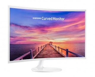 Monitor PC Samsung 32 Inch Curved FHD LC32F397FWE