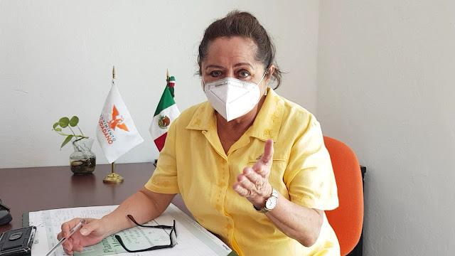 diputada de la fracción legislativa de Movimiento Ciudadano, Silvia América López Escoffié