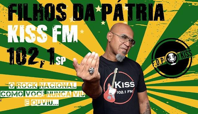 """Clemente Nascimento apresenta """"Filhos da Pátria"""", na Kiss FM: relembrando história do rock nacional com bom humor e alto astral (Foto: Divulgação)"""