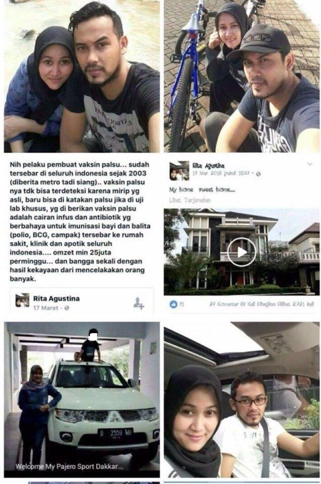 Tidak habisnya akal-akalan segelintir orang tidak bertanggung jawab demi meraup pundi-pundi rupiah. Setelah dihadapi dengan beredarnya sejumlah barang abal-abal tak ber-SNI (Standar Nasional Indonesia), kini masyarakat harus dibayang-bayangi kekhawatiran lantaran beredarnya vaksin palsu.