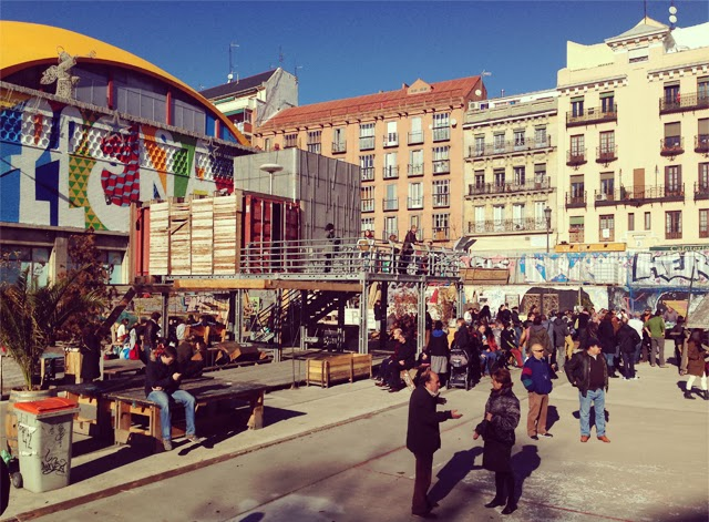 Campo de Cebada - Madrid