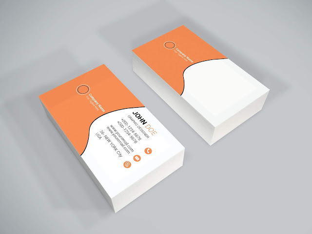 Free Business Card Psd Template download 2019