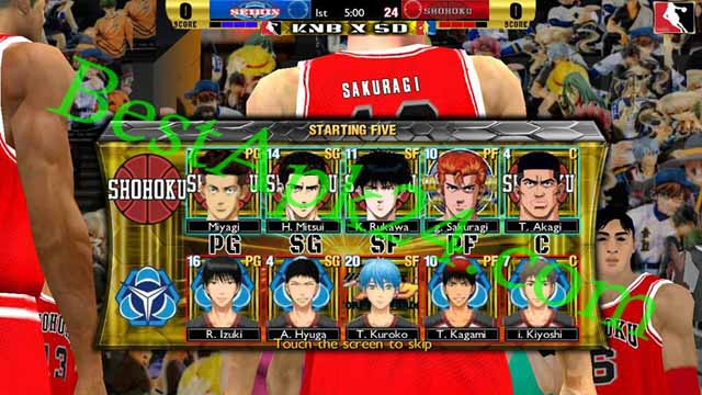Slamdunk VS Kuroko No Basuke v2.0 Android Game Download For Free Bestapk24 4