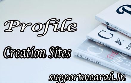 100+ Profile Creation Sites List-Do Follow Backlinks