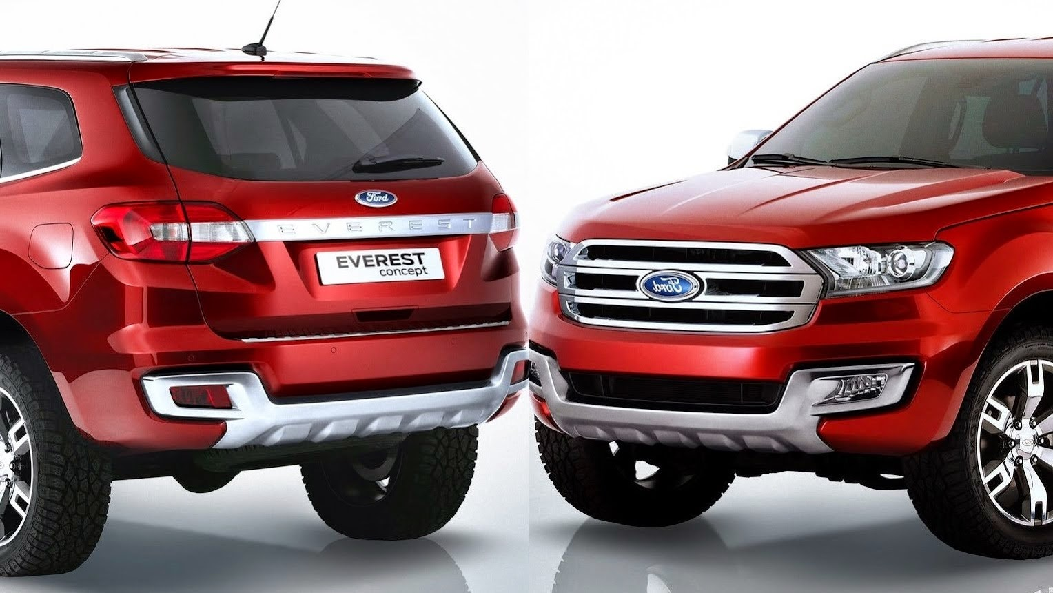 Getting Sense Of 2015 Ford Endeavour From Thailands New Everest SUV